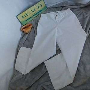 Old Navy Women's Wide Leg White Jeans